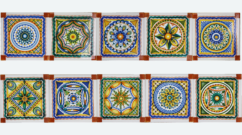 Stunning Piastrelle Decorate Per Cucina In Muratura